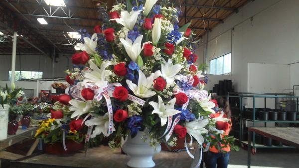 Arrangement For 4h Of July, Veteran's Day, Memorial Day