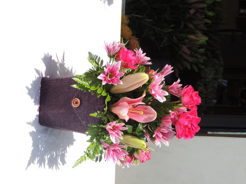 Pink Lilies & Pink Flowers