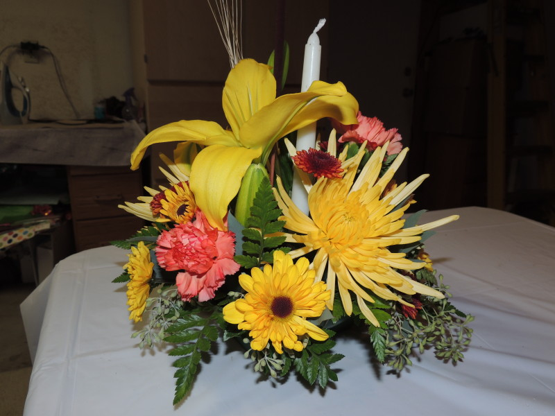 Special Occasion Arrangement With Assorted Yellow Flowers